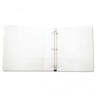 Deluxe Easy-to-Open Round-Ring View Binder, 3 Rings, 1 5